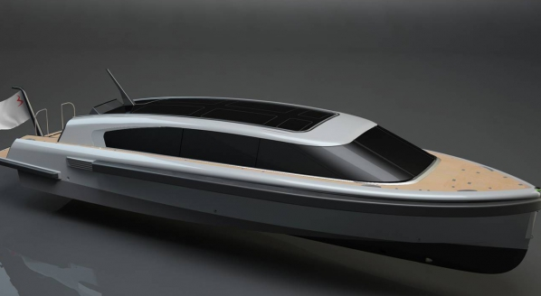 SOLAS-compliant superyacht tender in build