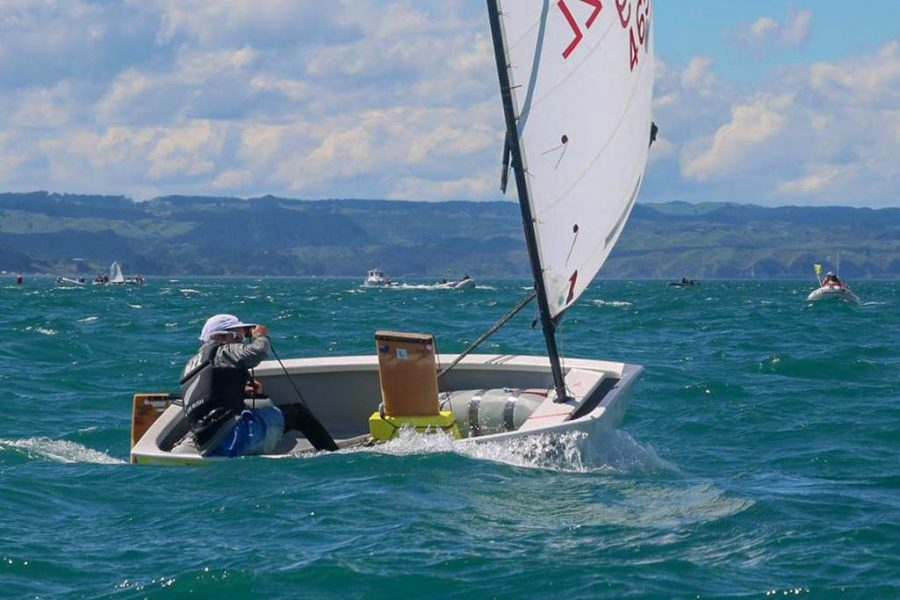 Lee Rush shows class at North Island Opti champs