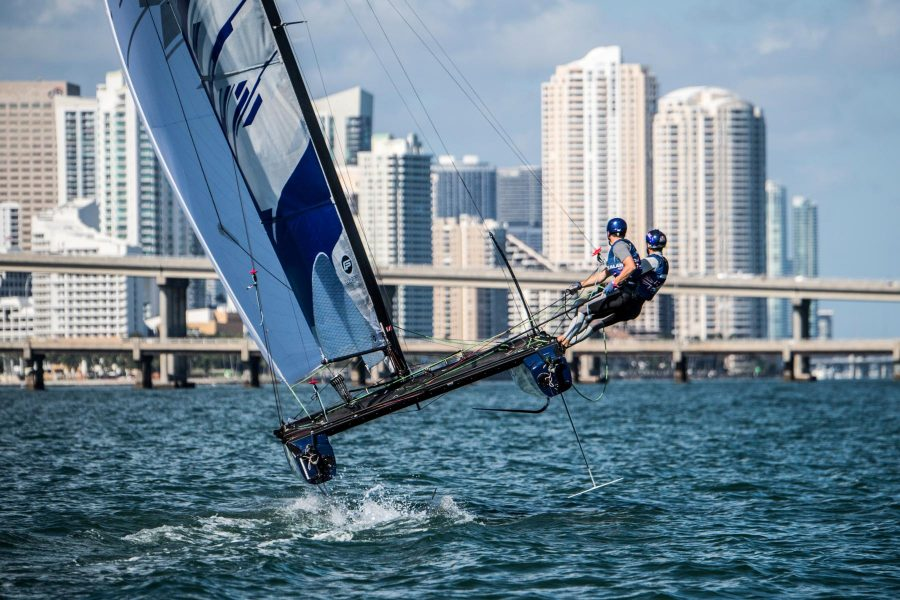 McHardie and McKenzie take out Red Bull Foiling Generation title