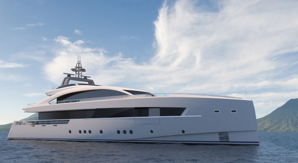 Hakvoort confirms the sale of new 45m superyacht