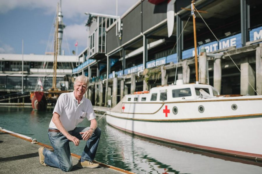 Volunteers celebrate 25 years at the Maritime Museum
