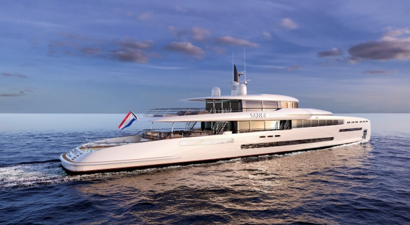 Royal Huisman chooses MYS for the global debut of M/Y 'Sangi'
