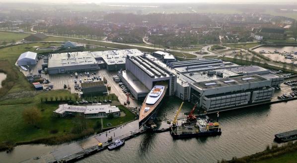Royal Huisman launches 81m Sea Eagle II