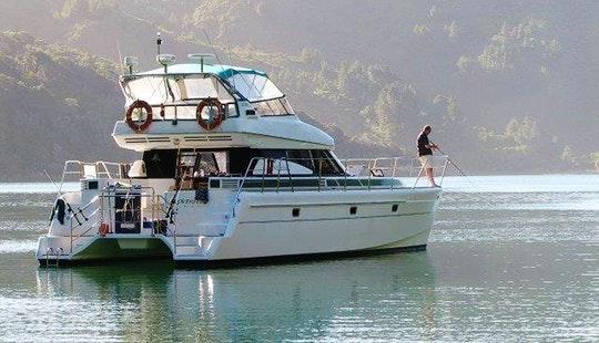 Enjoy Kaiteriteri, Tasman on 45′ Power Catamaran