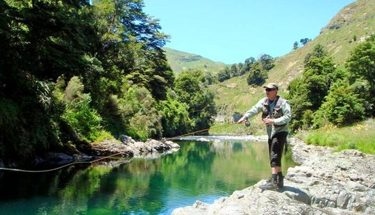 Full Day Guided Raft Fishing on the Rangitikei River, New Zealand
