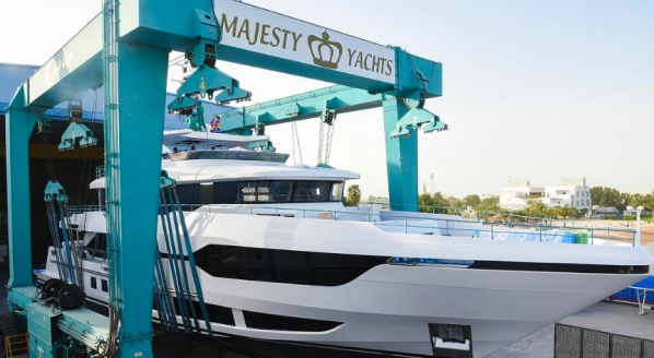 Gulf craft announces launch of its Majesty 120