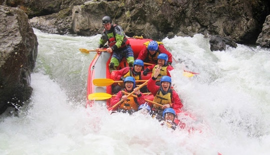 Half Day (Grade 5 Rapids) White Water Rafting on the Rangitikei River in New Zealand
