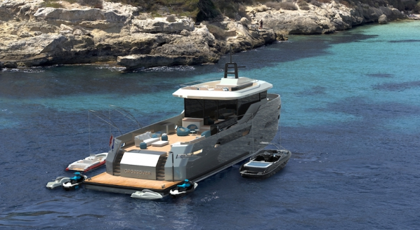 Lynx Yachts sells first CROSSOVER 27 project
