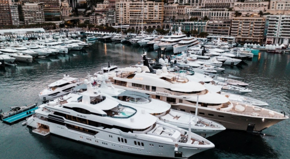 Monaco Yacht Show, SYBAss and LYBrA in numbers