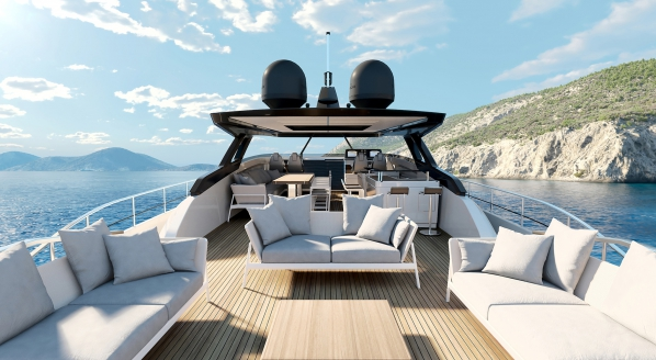 Ferretti Yachts reveals new flagship superyacht