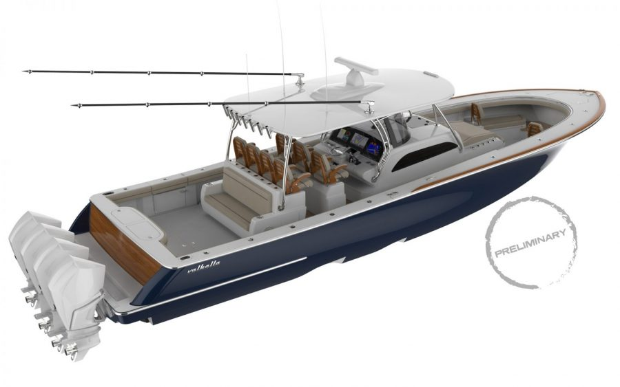 Just Announced: The Valhalla Boatworks V-46