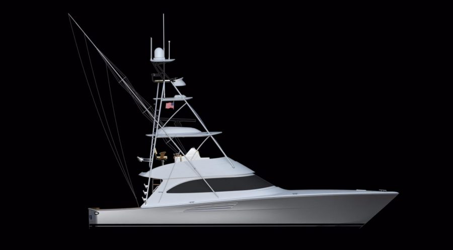 New Yacht Alert: The Viking Yachts 54 Convertible