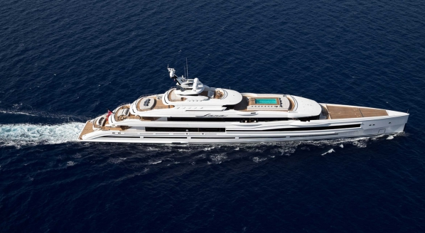 M/Y Lana available for charter through Imperial Yachts