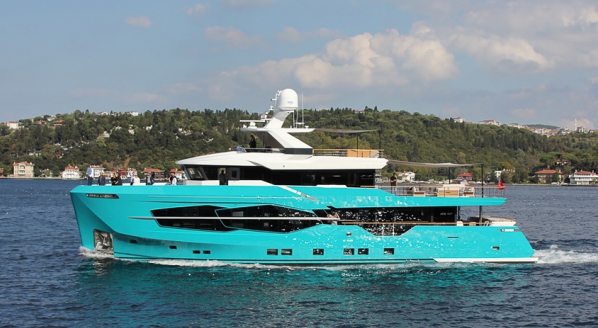 Numarine launches first 32XP yacht with Hot Lab-designed interior