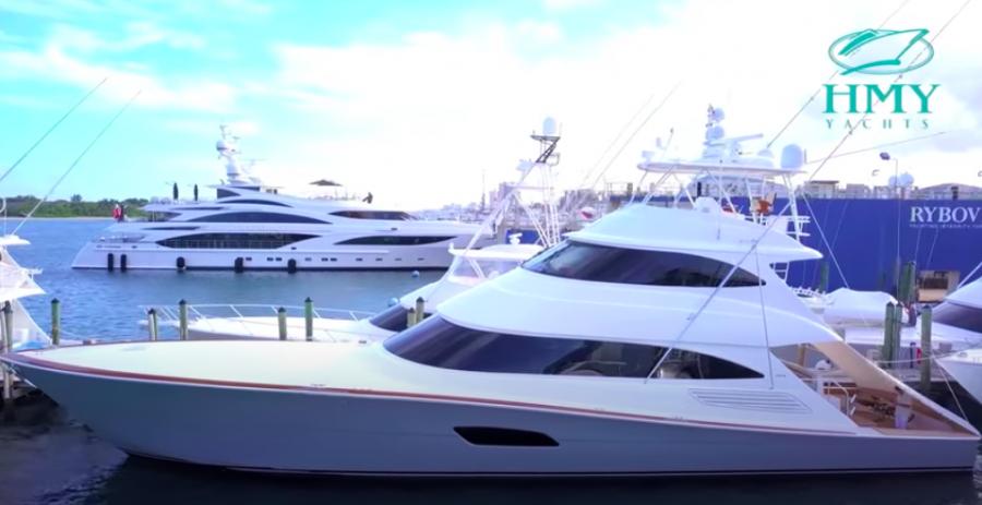 Viking Yachts 92 Skybridge Walkthrough