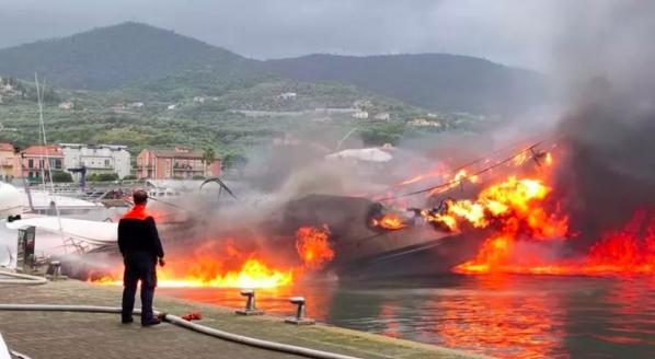 VIDEO: Fire on Lady Vanilla