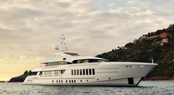 55m Project Gemini under construction at Heesen