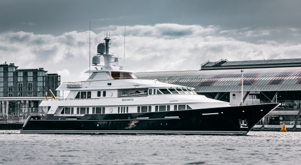 Huisfit completes refit of M/Y Broadwater