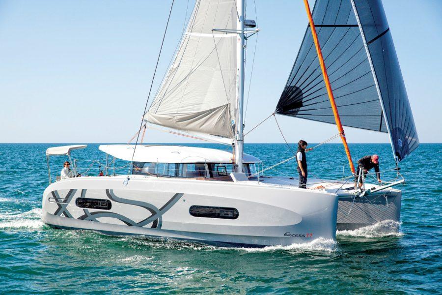 Excess 11 Named Sail Magazine's Best Cruising Catamaran Under 50′