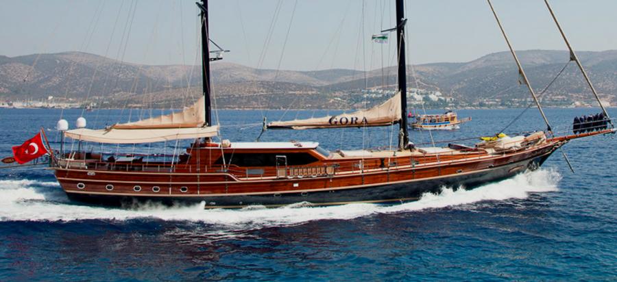 GORA, 38.2 m modern gulet sailing yacht, Joings YPI Fleet