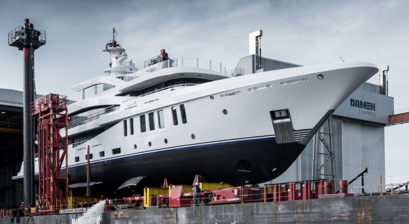 Damen Yachting announces first launch of 2021