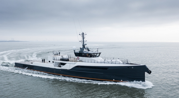 Damen Yachting confirms sale of 55-metre Gene Chaser