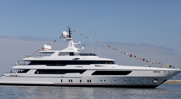 M/Y Legacy: The latest 56m by Codecasa
