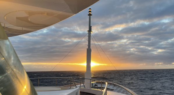 Notes from M/Y Starfire's Atlantic crossing